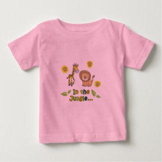 Camiseta Para Bebê No t-shirt da selva
