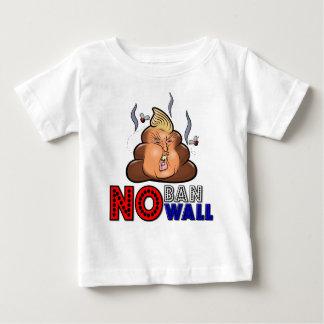 Camiseta Para Bebê NoBanNoWall nenhuma proibição nenhuma proibição da