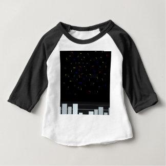 Camiseta Para Bebê Noite