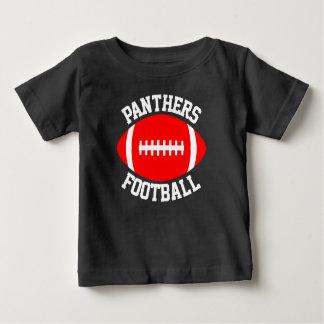 Camiseta Para Bebê Nome da equipe do bebê vermelho do futebol &