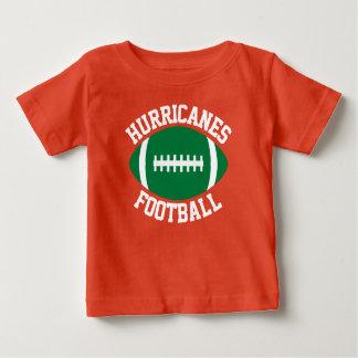 Camiseta Para Bebê Nome/texto & número feitos sob encomenda da equipe