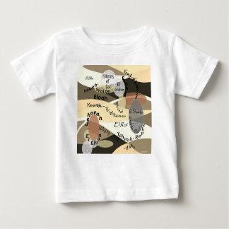 Camiseta Para Bebê Nomes do deus