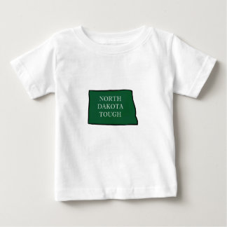 Camiseta Para Bebê North Dakota resistente