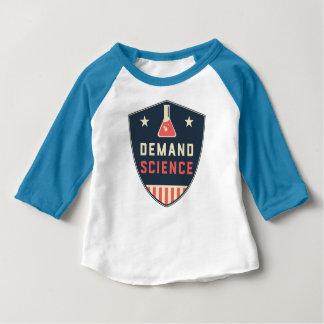 Camiseta Para Bebê Nós as pessoas da ciência da procura em América