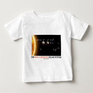 Camiseta Para Bebê Nosso sistema solar novo e melhorado (humor