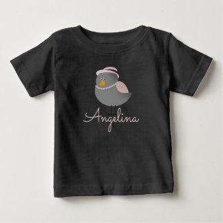 Camiseta Para Bebê Nostálgico romântico engraçado bonito da forma