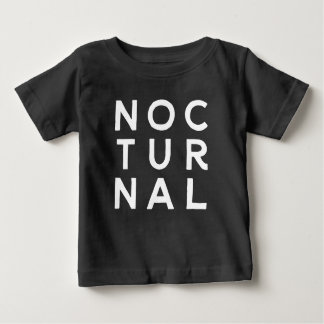 Camiseta Para Bebê Noturno