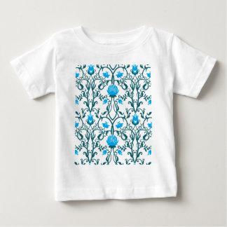 Camiseta Para Bebê nouveau da arte, vintage, floral, époque do belle,