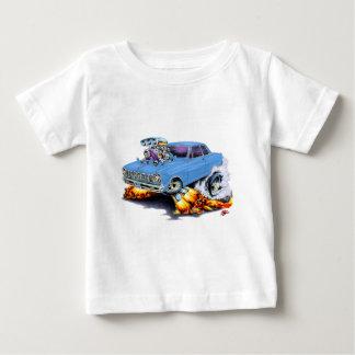 Camiseta Para Bebê Nova 1962-65 clara - carro azul