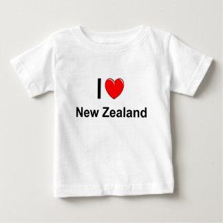 Camiseta Para Bebê Nova Zelândia