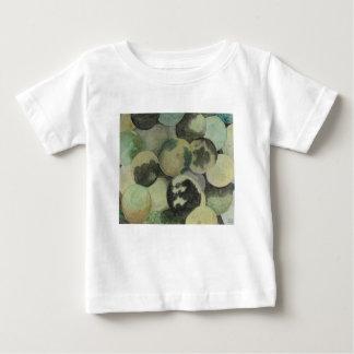 Camiseta Para Bebê Nozes pretas
