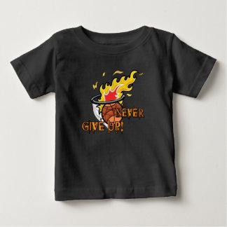 Camiseta Para Bebê Nunca dê acima a hebraicos o capítulo 11