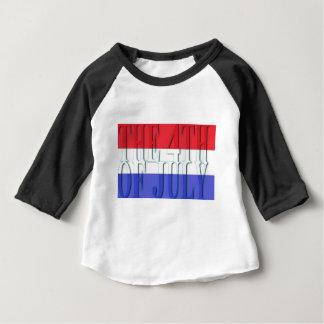 Camiseta Para Bebê O 4 de julho