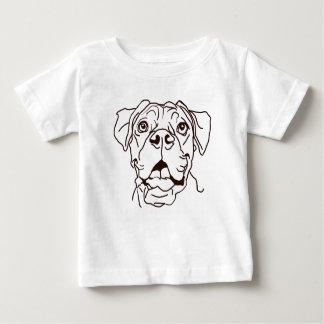 Camiseta Para Bebê O amor do pugilista de minha vida