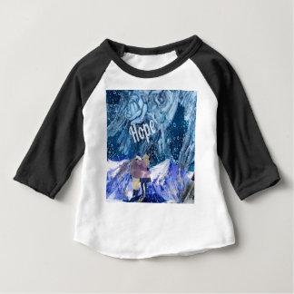 Camiseta Para Bebê O amor é a única esperança em nossa vida