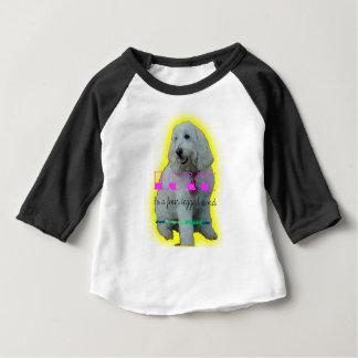 Camiseta Para Bebê O amor é uma palavra de quatro patas