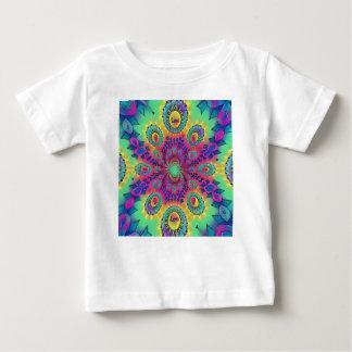 Camiseta Para Bebê O amor psicadélico da Multi-Cor é teste padrão