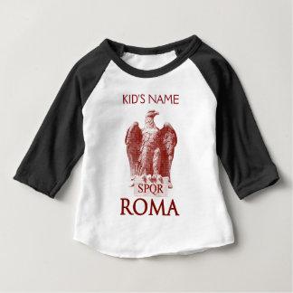 Camiseta Para Bebê O Aquila romano