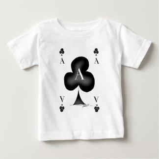 Camiseta Para Bebê O ás de clubes por Tony Fernandes