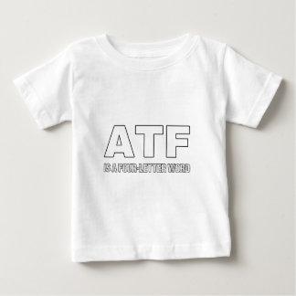 Camiseta Para Bebê O ATF é uma palavra de quatro letras