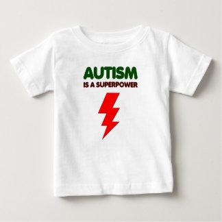 Camiseta Para Bebê O autismo é poder super, crianças, miúdos,