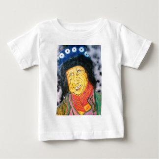 Camiseta Para Bebê O balancim Wrinkly