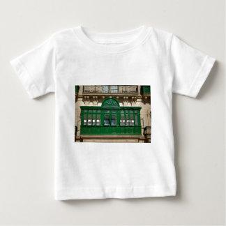 Camiseta Para Bebê O balcão verde