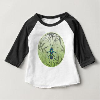 Camiseta Para Bebê O bambu do inseto sae do teste padrão original