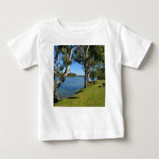 Camiseta Para Bebê O banco de parque, Berri, Sul da Austrália,