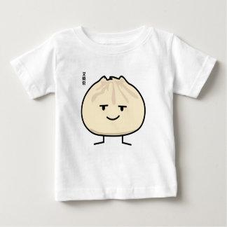 Camiseta Para Bebê O bao chinês do siu do cha do dim sum do bolo da