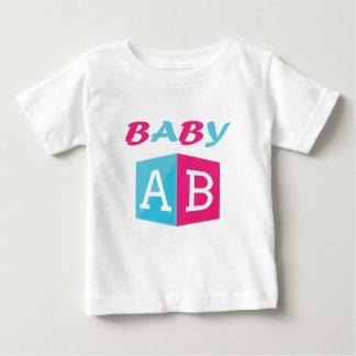 Camiseta Para Bebê O bebê ABC obstrui