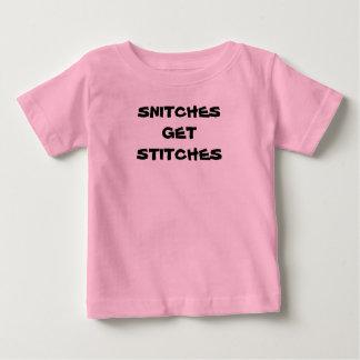 """Camiseta Para Bebê O bebê """"BUFOS OBTEM PONTOS """""""
