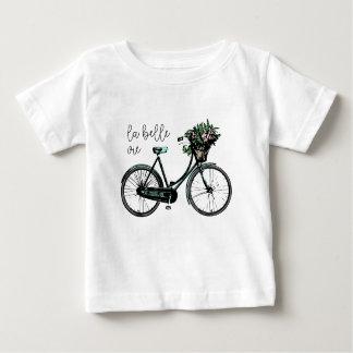 Camiseta Para Bebê O Belle do La Vie