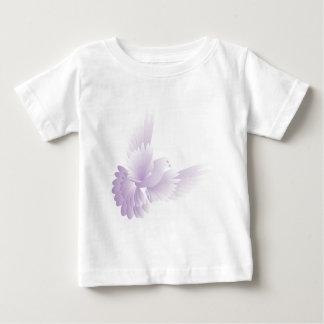 Camiseta Para Bebê o branco mergulhou no céu azul 3