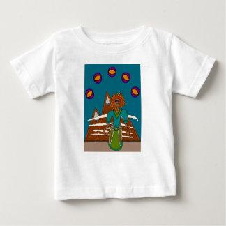 Camiseta Para Bebê O caminhante do céu