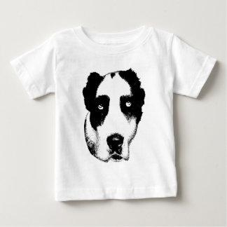 Camiseta Para Bebê O cão de observação