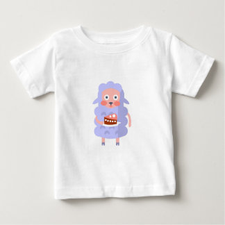 Camiseta Para Bebê O carneiro com partido atribui S Funky estilizado