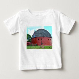 Camiseta Para Bebê O celeiro redondo do Arcadia