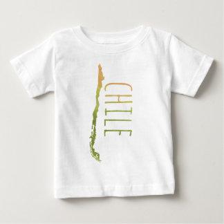 Camiseta Para Bebê O Chile