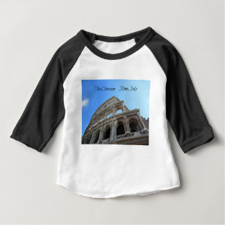 Camiseta Para Bebê O Colosseum em Roma, Italia