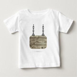 Camiseta Para Bebê o conselho de madeira