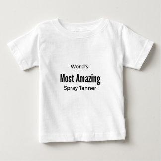 Camiseta Para Bebê O curtidor o mais surpreendente do pulverizador do