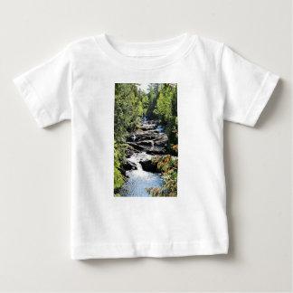 Camiseta Para Bebê O desfiladeiro no Moxie cai nas forquilhas