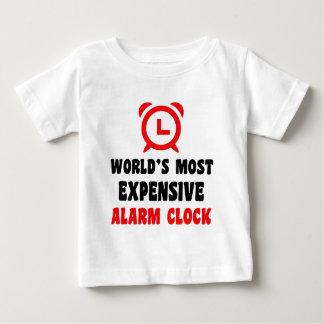 Camiseta Para Bebê o despertador o mais caro do mundo