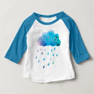 Camiseta Para Bebê O deus de O, didst envia uma chuva abundante