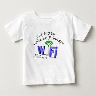 Camiseta Para Bebê O deus é meu 4:19 sem fio de Phil do fornecedor