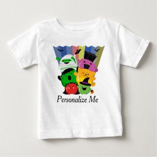 Camiseta Para Bebê O Dia das Bruxas customizável - amigos bonitos de