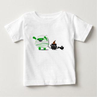 Camiseta Para Bebê O Dia das Bruxas customizável - mamã e amigos de