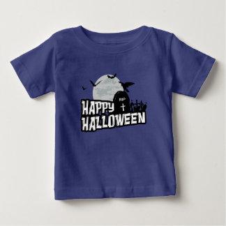 Camiseta Para Bebê O Dia das Bruxas feliz