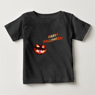 Camiseta Para Bebê O DIA DAS BRUXAS FELIZ - Jack-O-Lanterna de